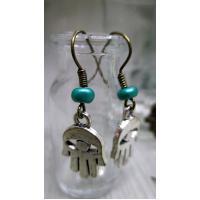 Hand of Fatima 5 earrings