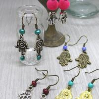 Hand of Fatima 5 earrings