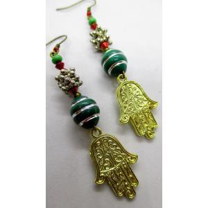 Hand of Fatima earring