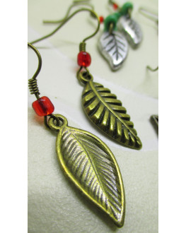 Leaf 4 earrings