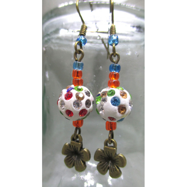 Flower 4 earrings