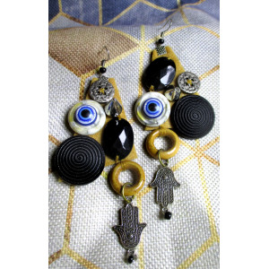 Earrings … Culture Collage