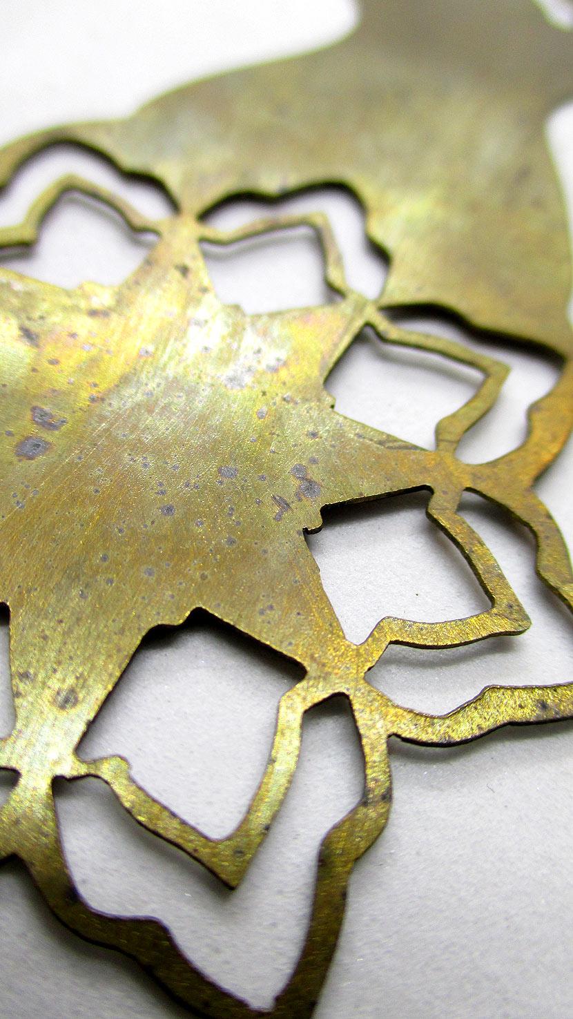 Bookmark ... Brass
